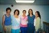 Giselle, Heather, Aleks, Venetia and Linda at Apple Hill.