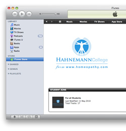Hahnemann College on iTunes U
