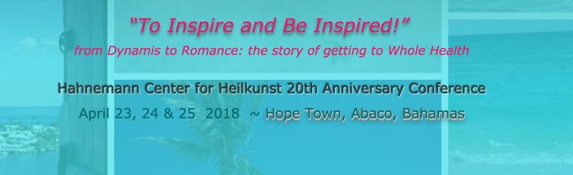 Heilkunst Center for Heilkunst 20th Anniversary Conference